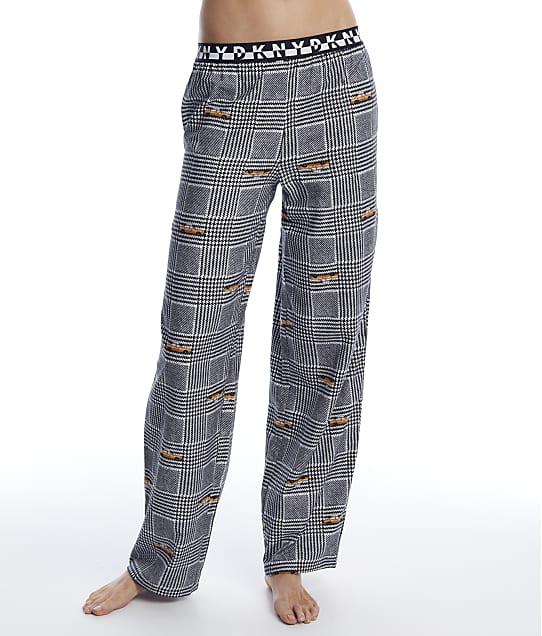 DKNY: Houndstooth Knit Pajama Pants