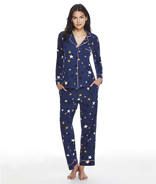DKNY Sleepwear Cotton Knit Pajama Set in Dive Star Y2822489