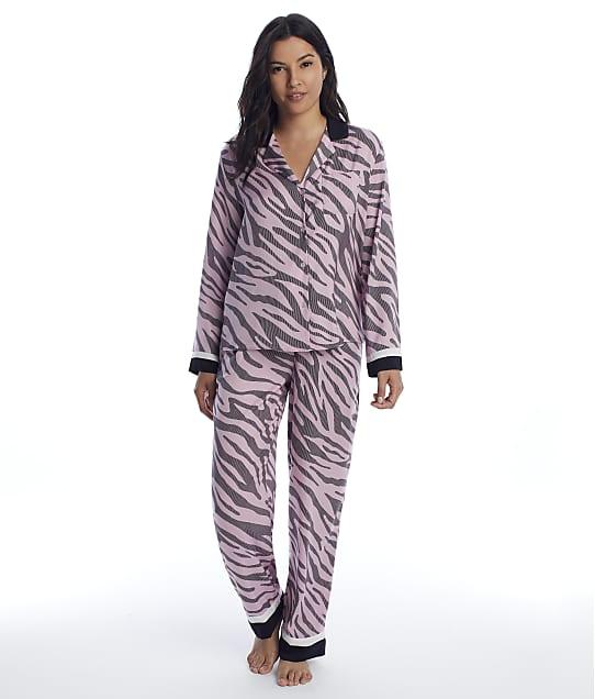 DKNY: Zebra Satin Pajama Set
