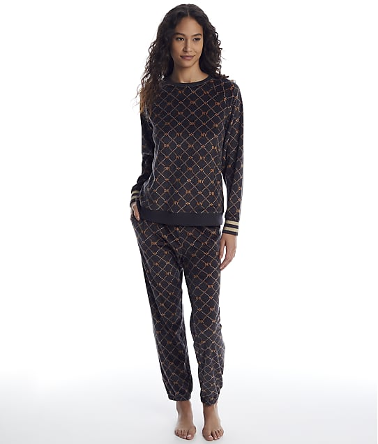 DKNY: Velour Pajama Set