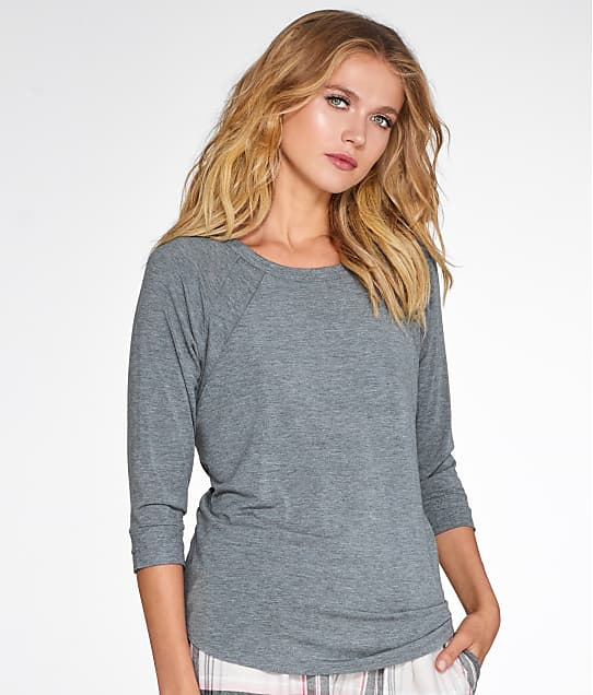 DKNY: Checked In Knit Sleep Top