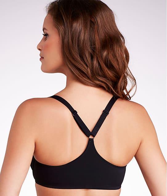 Dominique Talia Front-Close T-Shirt Bra in Black 3900
