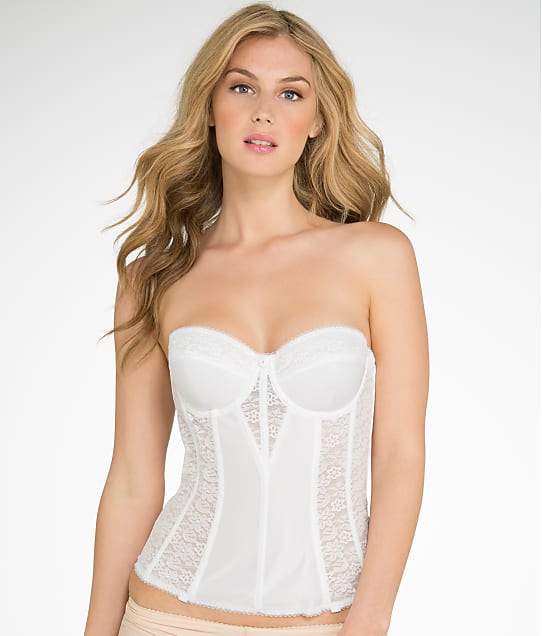 Dominique: Longline Lace Torsolette