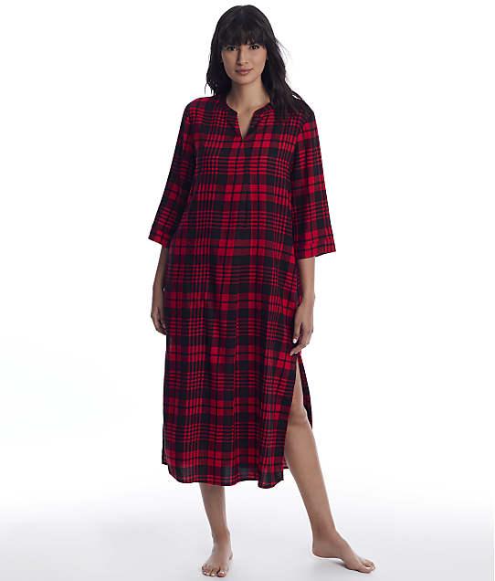 Donna Karan: Lips Woven Maxi Sleep Shirt