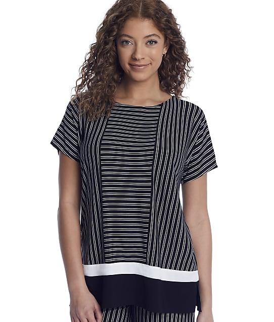 Donna Karan Sleepwear: Get In Line Modal Sleep Top
