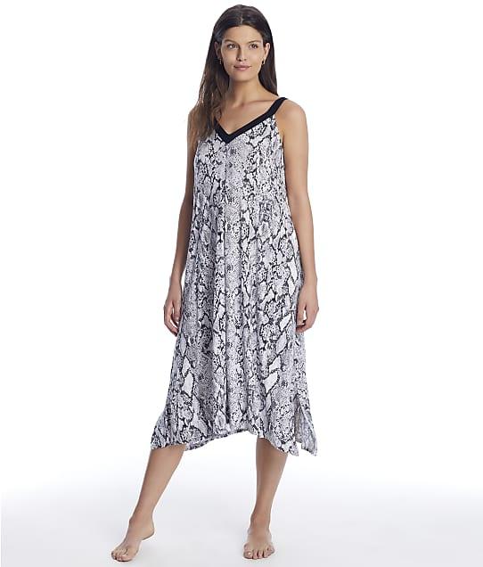 Donna Karan Sleepwear Fashion Classics Modal Nightgown in Grey Animal D3623328
