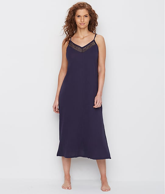 Donna Karan: Cotton Luxe Knit Nightgown