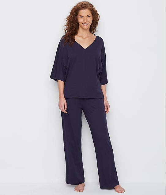 Donna Karan: Cotton Luxe Knit Pajama Set