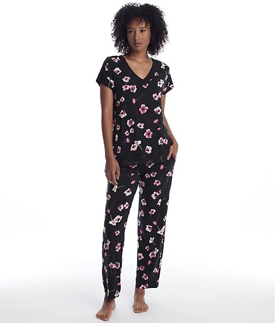 Donna Karan: Floral Modal Pajama Set