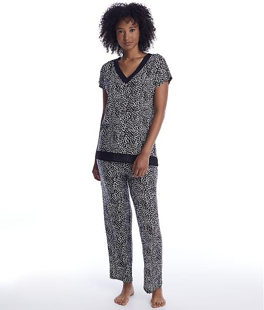 Donna Karan Sleepwear: Abstract Modal Pajama Set