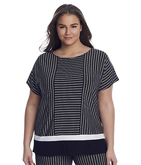 Donna Karan Sleepwear: Plus Size Get In Line Modal Sleep Shirt