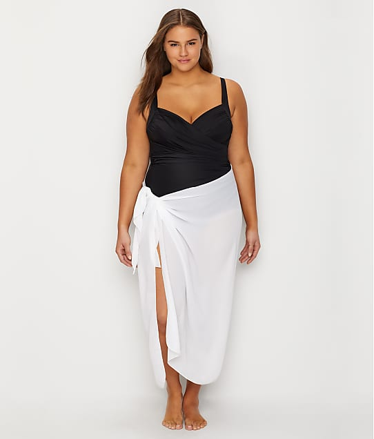 bf25cda15a138 Dotti Plus Size Long Sarong Cover-Up | Bare Necessities (11160)