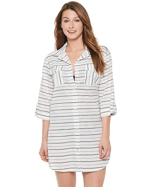 Dotti: Radiance Stripe Shirt Dress Cover-Up