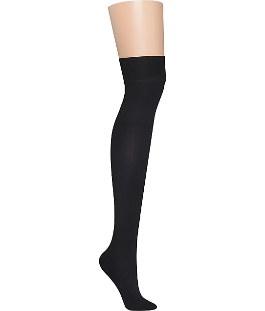 DKNY: Skin Sense Fleece Over The Knee Thigh Highs