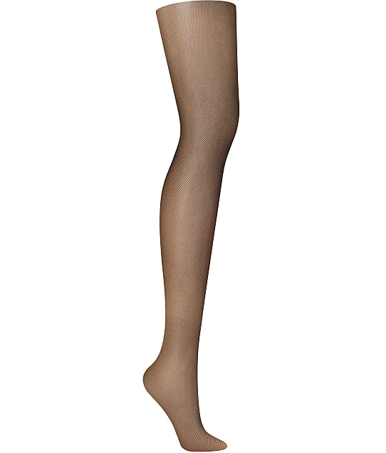 DKNY Micro Net Tights in Black(Front Views) DYS015
