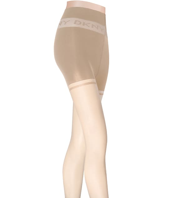 DKNY Sheer Control Top Pantyhose in Nude(Front Views) DYS056