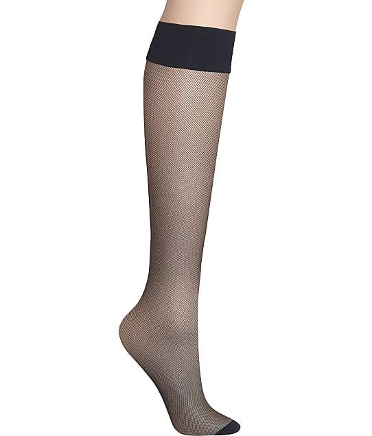 DKNY: Sheer Mirco Net Knee Highs 2-Pack