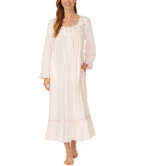 Eileen West: Pink Ballet Flannel Nightgown
