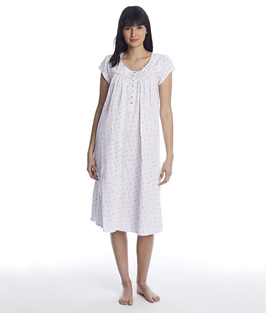 Eileen West: Viney Floral Knit Nightgown