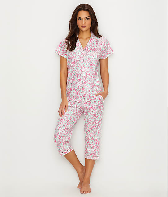 Eileen West: Jersey Knit Capri Pajama Set