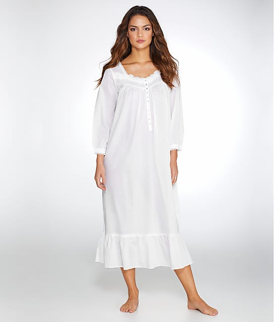 Eileen West: Lawn Ballet Woven Night Gown