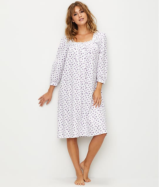Eileen West: Heather Waltz Jersey Knit Night Gown