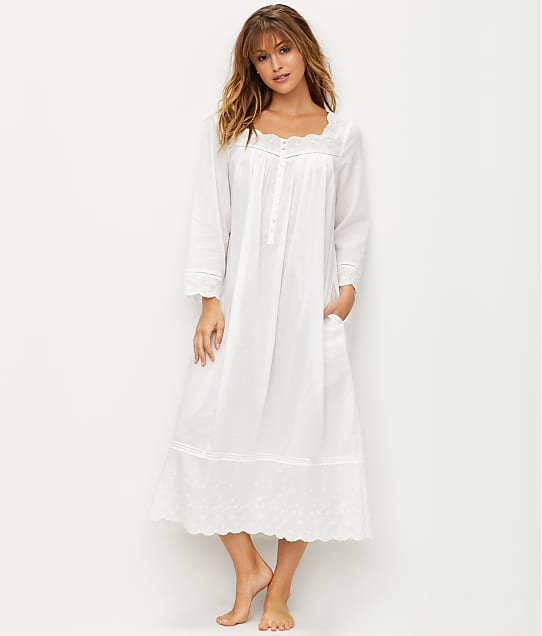 Eileen West: Embroidered Ballet Woven Night Gown