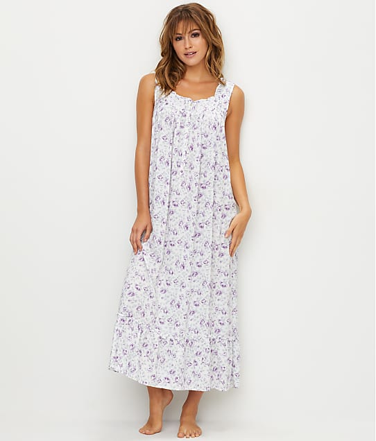 Eileen West: Floral Woven Ballet Night Gown