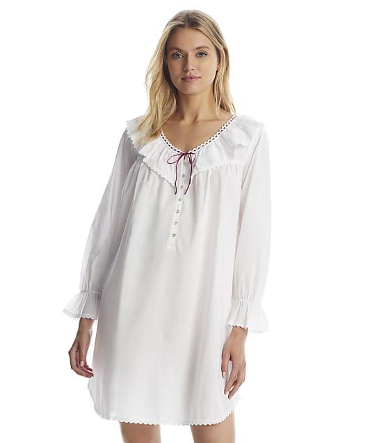 Eileen West: Clara Poet Woven Nightgown
