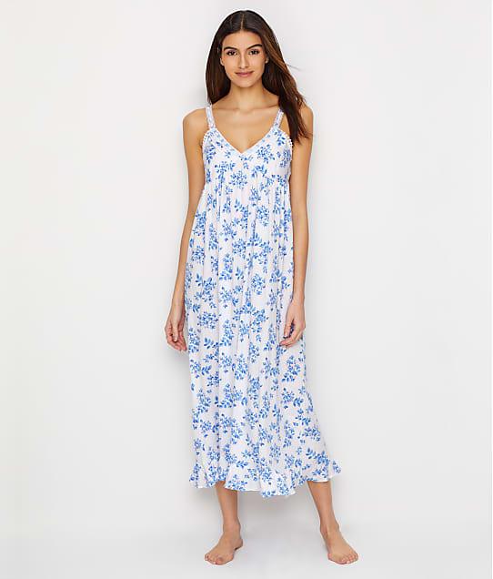Eileen West: Floral Pointelle Ballet  Knit Nightgown
