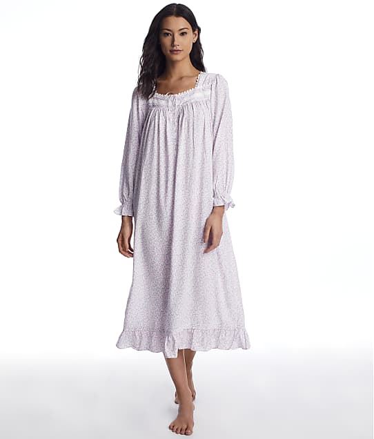 Eileen West: Blush Floral Dream Ballet Woven Nightgown