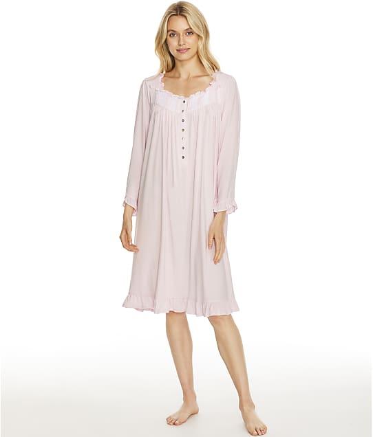 Eileen West Modal Waltz Nightgown in Solid Rose E5520177