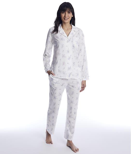 Eileen West: Pink Multi Knit Pajama Set