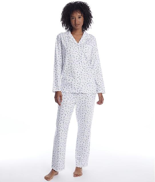 Eileen West: English Bouquet Knit Pajama Set