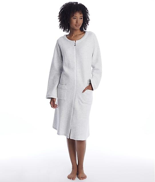 Eileen West: Diamond Quilt Long Zip Robe