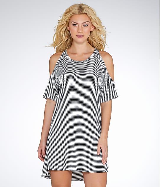 Elan: Cold Shoulder Cover-Up Dress
