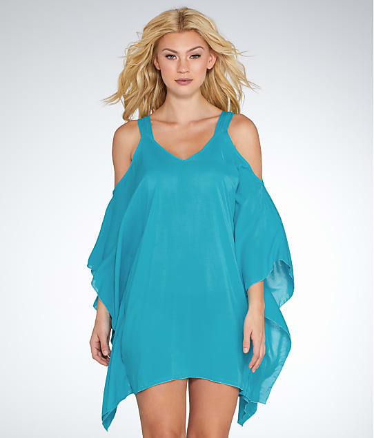 11ab2181a6037 Elan Cold Shoulder Cover-Up | Bare Necessities (RY5075)