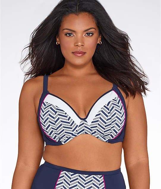 Elomi: Chevron Multi-Way Bikini Top