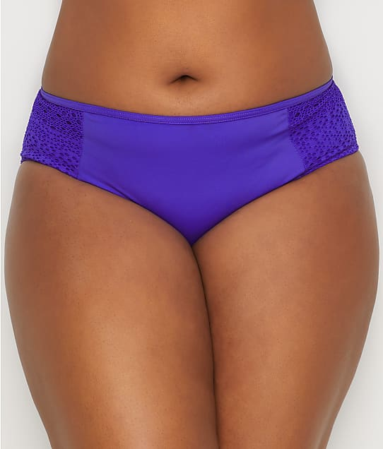 Elomi: Plus Size Indie Mid-Rise Bikini Bottom