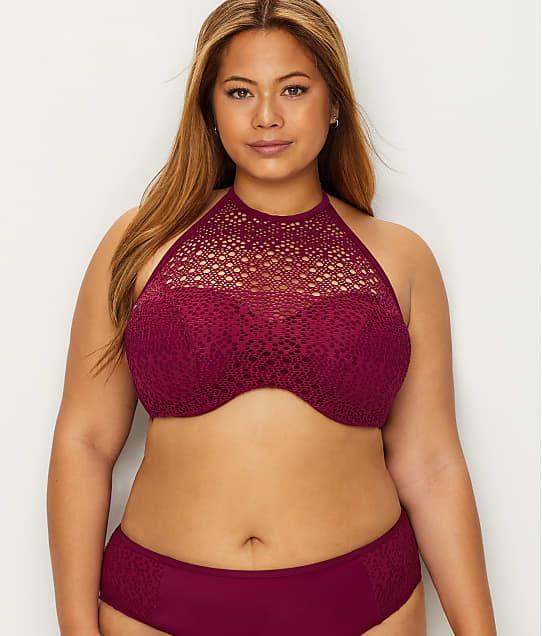 Elomi: Indie High Neck Bikini Top