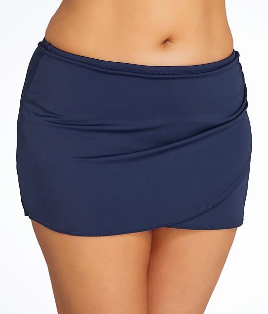 Elomi: Plus Size Essentials Wrap Skirted Bikini Bottom