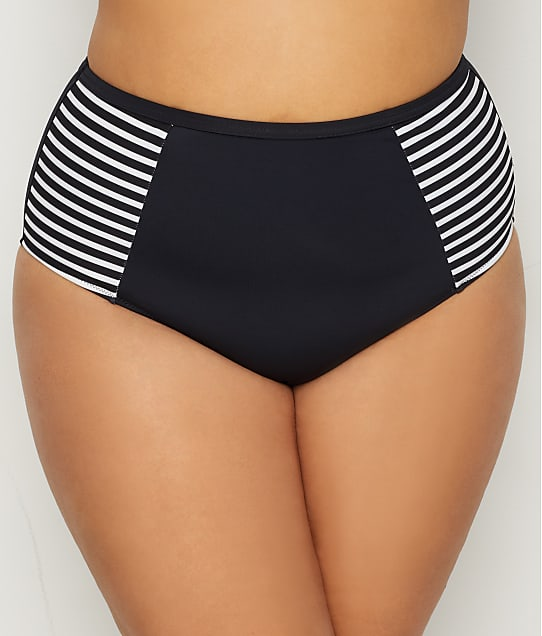Elomi: Plus Size Malibu Days High-Waist Bikini Bottom