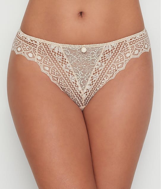 Empreinte Cassiopee Thong in Opaline(Front Views) 01151