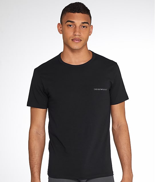 Emporio Armani: Classic Stretch Cotton T-shirt 2-Pack
