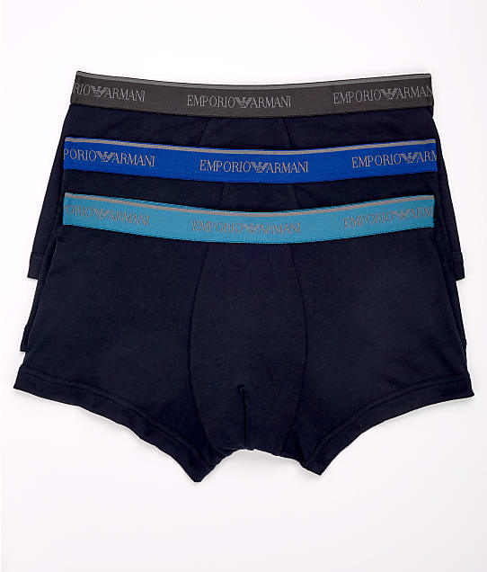 Emporio Armani: Classic Stretch Cotton Trunk 3-Pack