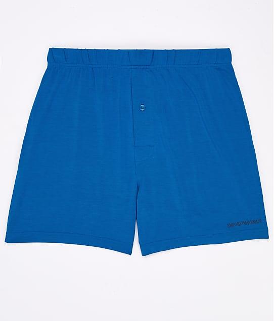 Emporio Armani: Stretch Modal Lounge Shorts