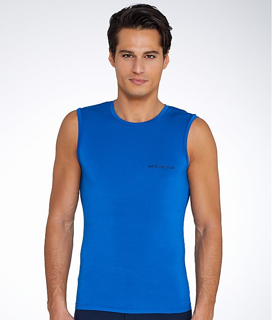 Emporio Armani: Stretch Modal Muscle Tee