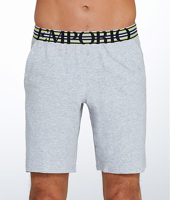Emporio Armani: Athletic Big Eagle Lounge Shorts