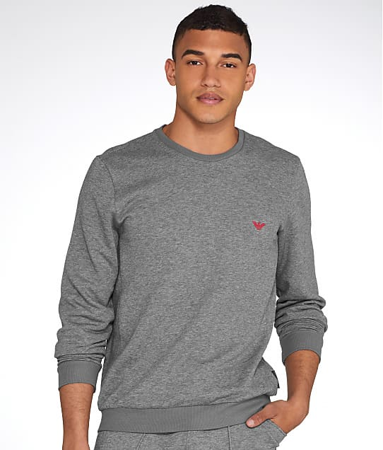 Emporio Armani: French Terry Pullover Sweatshirt