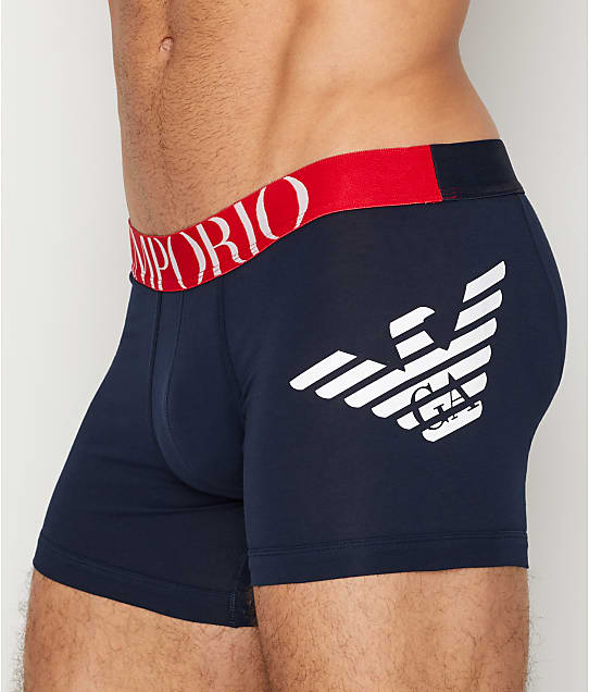 Emporio Armani: Bold Eagle Boxer Brief